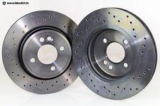 Dischi freno anteriori sportivi ventilati per MINI ONE 1.6 i 16v e Diesel 1.4