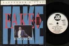 "ALEXANDER O'NEAL Fake 88  7"" Ps, Single Remix B/W Innocent, 652949 7 (Ex-/Ex- Vi"