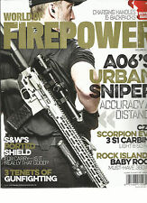 WORLD OF FIRE POWER, CHARGING HANDLES & BACKPACKS BUYER GUIDES, JULY / AUG, 2016
