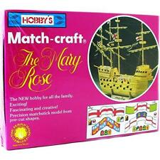 Match Craft The Mary Rose Matchstick Construction Model Kit 11540