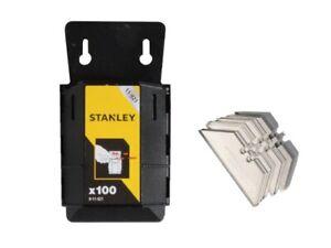 100 X Stanley 1992 Blades In Handy Dispenser STA811921 Heavy duty Carpet Vinyl