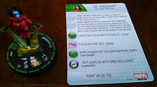 Dr. Minerva #019b prime uncommon Guardians of the Galaxy Heroclix with card