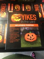 Yikes in the Yard Self-Inflatable Pumpkin