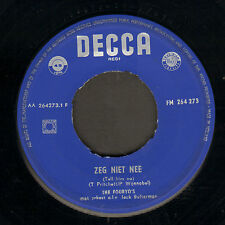 "FOURYO'S ‎– Zeg Niet Nee (Tell Him No/1959 VINYL SINGLE 7"")"