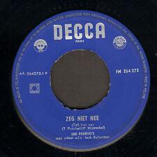 "FOURYO'S – Zeg Niet Nee (Tell Him No/1959 VINYL SINGLE 7"")"