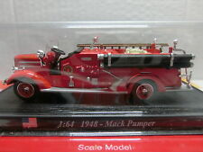 Feuerwehr Del Prado 1:64 Mack Pumper 1948 USA (052/16)