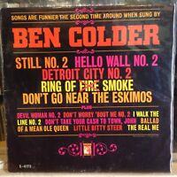 [COUNTRY/COMEDY]~EXC LP~BEN COLDER~Sings Still No.2, Detroit City & Others~1963