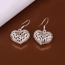 925 Sterling Silver Drop Dangle Hook Earrings L21