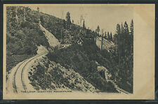 Ca Siskiyou Mountains Rotogravure c.1905 The Loop Rr Line Summit by Albertype