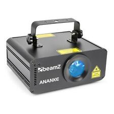 Beamz Laser 3D rouge vert bleu Contrôle DMX & standalone Mode auto +télécommande