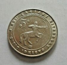 Caesar's Riverboat Casino collectors coin Harrison County In collectible token