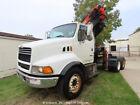 2000 Sterling LT9513 7-Ton Knuckle Boom Crane Truck Palfinger bidadoo -Repair <br/> MICHIGAN - NO RESERVE AUCTION - bidadoo Auctions