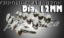 HONDA CB160 CL160 CL200 CHROME SEAT BUTTON 15PCS #3