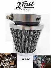 Kawasaki Chrome Air Filter KZ250 GPZ305 GPZ400 GPZ 48mm MOTO7