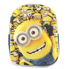 Minions 3D Backpack School Bag  backpack with Umbrella set