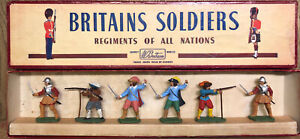 Britains Herald: Boxed Set H7402 - Cavaliers & Roundheads. Extremely Rare. c1962