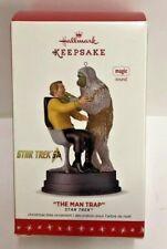 "Hallmark Star Trek Chrismas Ornament Captain James T. Kirk ""The Man Trap"" H6"