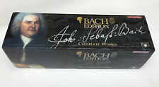 BACH Edition Complete Works 160 CD Collection In Original Box ,hardly Used.