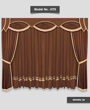 Saaria Stylish & Decorative Home Theater Stage Velvet Curtains 10'W x 8'H - HT-5