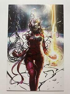 🔑 Captain Marvel #8, InHyuk Lee Virgin Variant Cover! 1st App Of Star!