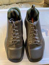MEN'S LEATHER prada shoes men SIZE 9.5