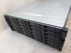"""NetApp NAJ-0801 Storage Array w/ 2x PSU, 2U, 24x 3.5"""" HDD Caddies,}"""