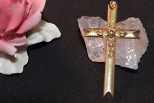 Antiker Anhänger Gold 585 Biedermeier Kreuz
