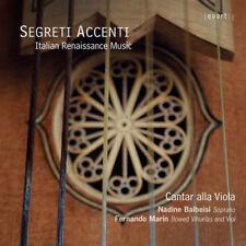 Cantar Alla Viola : Cantar Alla Viola: Segreti Accenti - Italian Renaissance