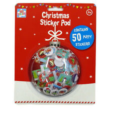 Christmas Sticker Pod - Over 50 Puffy Stickers - by Kids Create