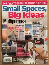 Small Spaces Big Ideas Multipurpose Magic Home decorating Sum 2015 FREE SHIPPING