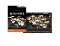 TOONTRACK EZ DRUMMER 2 VIRTUAL DRUMMING VSTI SOFTWARE FOR PC & MAC BOXED RETAIL