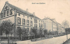 Kohlfurt Schlesien Schule Strasse Gruß Postkarte