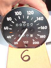 NEU,ORIG Tachometer Km/h mit Tageskilometerzähler W=1125 Opel Corsa A CC, C12NZ,