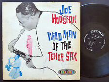 JOE HOUSTON Wild Man Of The Tenor Sax LP CROWN RECORDS CLP 5203 US 1962 DG MONO