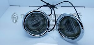 1965 1966 Mercury NOS Pair Back Up Light Assembly Accessory Kit C5MY-15499-B