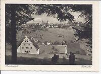 598 Freudenstadt 1935 Luftkurort mit Bärenschlössle AK Baden Württemberg