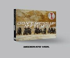 EXO[Don't Mess Up My Tempo]5th Album Moderato CD+Poster+Book+etc+Gift+Tracking