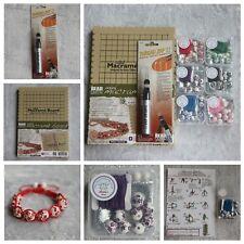 DIY Mini Macrame Bead Jewellery Bracelet Making Kit Thread Zapper  Zap II 2