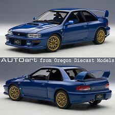 AUTOart 78602 1/18 Subaru Impreza 22B Blue (upgraded version)