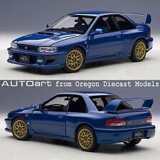 AUTOart 78602 1/18 Subaru Impreza 22B Blue (upgraded version)
