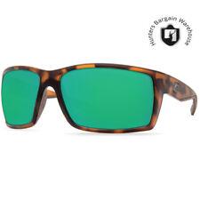 Costa RFT66OGMGLP, Reefton Matte Retri Tortoise Green Mirror 580G Sunglasses