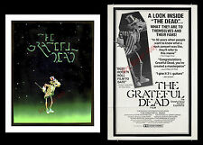 """THE GRATEFUL DEAD FILM"" 1977 RARE MOVIE POSTER LOT - JERRY GARCIA AT HIS BEST!!"