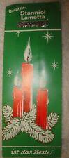 Vintage German Christmas Tree Lead Tinsel Silver Brilliant Lametta Foil Icicles