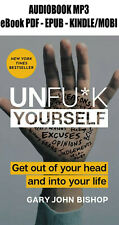 Unfu*k Yourself: Get Out of Your Head and into Your Life Book ᑭ.ᗪ.ᖴ + Audiobook