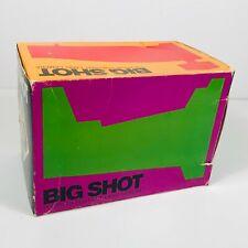 De Colección Cámara Polaroid Portait tierra Big Shot Con Caja Original de películas instantáneas 1970s