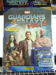 Guardians Of The Galaxy Vol. 2 Movie Sticker Starter Pack PANINI STICKER ALBUM