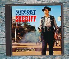 SUPPORT YOUR LOCAL SHERIFF/GUNFIGHTER Alexander/Elliott/Ferguson RARE SOUNDTRACK