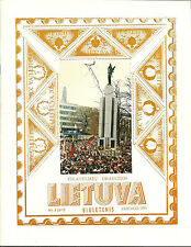 LITHUANIA- 6 STAMP / COVER CATALOGS/ BOOKLETS