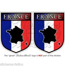 Frankreich Französisch Schild Francia pegatina de vinilo aufkleber 75mm X2