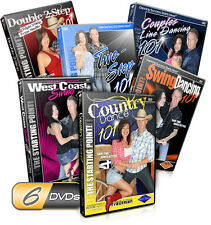 COUNTRY DANCE PACK 6 Videos - Trautman Lessons